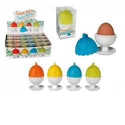 KG 712942 Stojánek na vařená vejce kuřátko 1ks