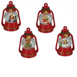 Vánoční sněžítko lucerna KG 946077