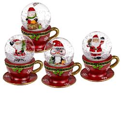 Vánoční snežítko šálek KG 946119, 7 x 6 cm