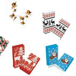 KG 992050 Papírové kapesníky vánoční 3-vrstvé