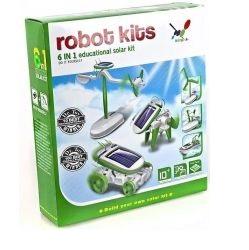Robot KITS 6v1 solarbot Solární stavebnice