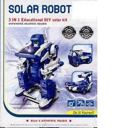 Solární stavebnice Solarbot 3v1 robot