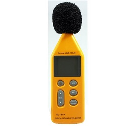 HS-814 Digitální hlukoměr 40-130dB měřič hluku