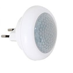 LED80 orientační svítidlo do zásuvky s poh. čidlem