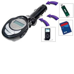MP3 / FM transmitter do auta Hutermann CMP3-8