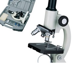 Mikroskop 40-400x kovový biologický školní HMI-400