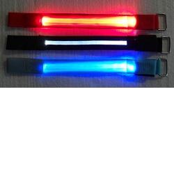 Hütermann LED svítící pásek na ruku červená
