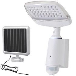 Hütermann SOLIO3 Solární LED svítidlo s PIR + akum
