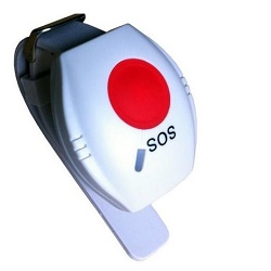 Nouzové SOS tlačítko pro GSM alarm, náramek