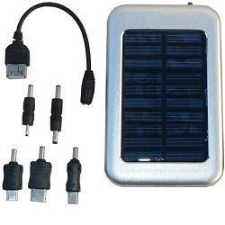 Solární záložní nabíječka s aku Hutermann HSC-2600