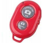 Bluetooth dálkové ovládání, spoušť mobilu, červená