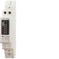 Elektroměr na DIN lištu jednofázový HT-1PM