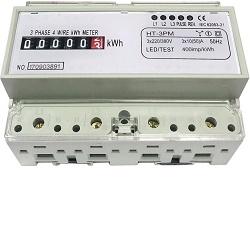 Elektroměr na DIN lištu třífázový mech. HT-3PM