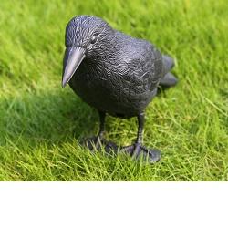 Maketa havrana plastová - odpuzovač ptáků