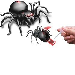 Robotický pavouk s pohonem na slanou vodu
