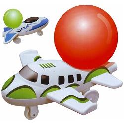 Stavebnice letadla na balónkový pohon