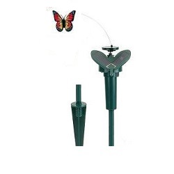 Hütermann Butterfly Létajicí solární motýl červený