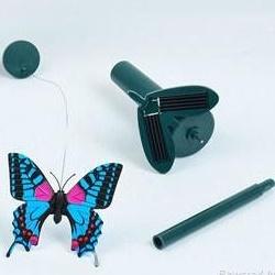 Hütermann Butterfly Létajicí solární motýl modrý
