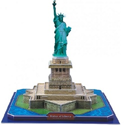 CubicFun 3D puzzle Socha Svobody New York 39 dílů