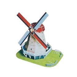 3D puzzle 2570 Větrný mlýn z Holandska 45dílů
