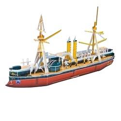 Skládačka 3D puzzle loď Ding Yuan 73 dílů