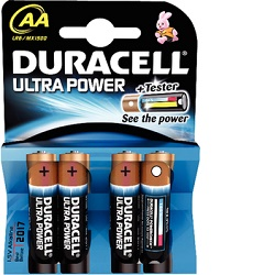 Baterie Duracell Ultra Power AAA 1ks MX2400 LR03