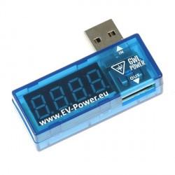 Měřič USB portu - napětí a proud