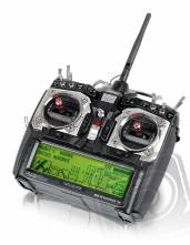 AURORA 9 2.4Ghz vysílač s TX akumulátorem CZ soft