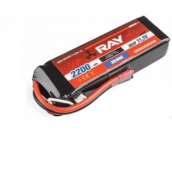 G3 RAY Li-Pol 2200mAh/11,1 26/50C Air pack 24,4Wh