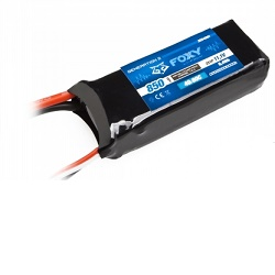 FOXY G2 Li-Pol 850mAh/11,1V 40/80C 9,4Wh 3EB4001