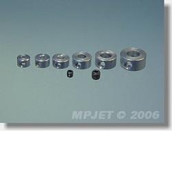Stavěcí kroužek 4 mm dural 4 ks 2811