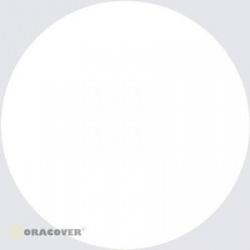 ORACOVER 2m bílá 10 Polyesterová nažehlovací folie