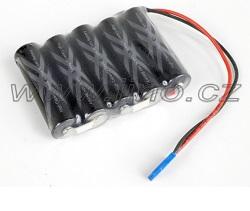 Eneloop Ni-Mh 6V 2500 mAh + JR konektor Akumulátor