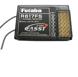 Futaba přijímač 7k R617FS 2.4GHz FASST 14