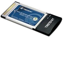 TRENDnet WLAN CardBus IEEE 802.11a/g, 108Mbps