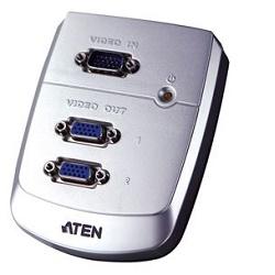 ATEN VS-82 VGA rozbočovač 1PC - 2 VGA 250Mhz