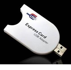 Adapter pro Express Card karty přes USB