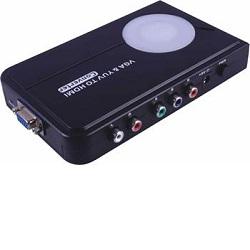 Převodník VGA+YUV na HDMI, elektronický