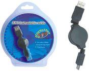 PremiumCord KRUABM USB kabel s mini USB 0.9m navíj