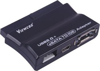 PremiumCord USB 2.0 + eSATA na IDE adaptér