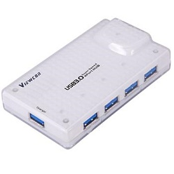 USB 3.0 Superspeed HUB 4-portový s napájením