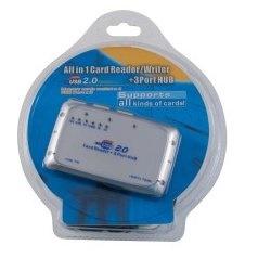 PremiumCord kucm03 USB 2.0 čtečka paměť.karet 16v1
