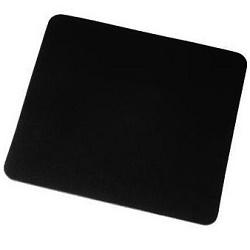 Podložka pod myš 3mm černá, měkká textilní