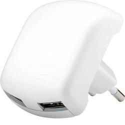 Napájecí adaptér 64022, 230V - 2x USB 5V/2A černý
