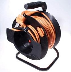 Prodlužovací kabel 230V 50m buben 1 zásuvka 16A