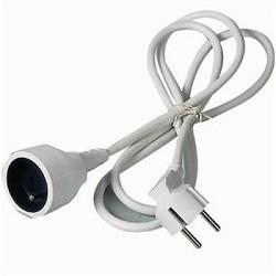 Prodlužovací kabel 5m 1 zásuvka bílý