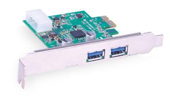 PCI Express přídavná karta s 2 porty USB 3.0