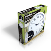 Nástěnné hodiny 25 cm s úložným prostorem