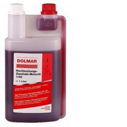Dolmar 1L motorový olej dvoutaktní s dávkovačem