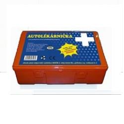 Autolékárnička DAS, plastová, 341/2014